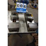 "Lot 6 - KURT 6"" PRECISION MACHINE VISES, NO HANDLES (Location: 903 Blue Starr, Claremore, OK 74017)"
