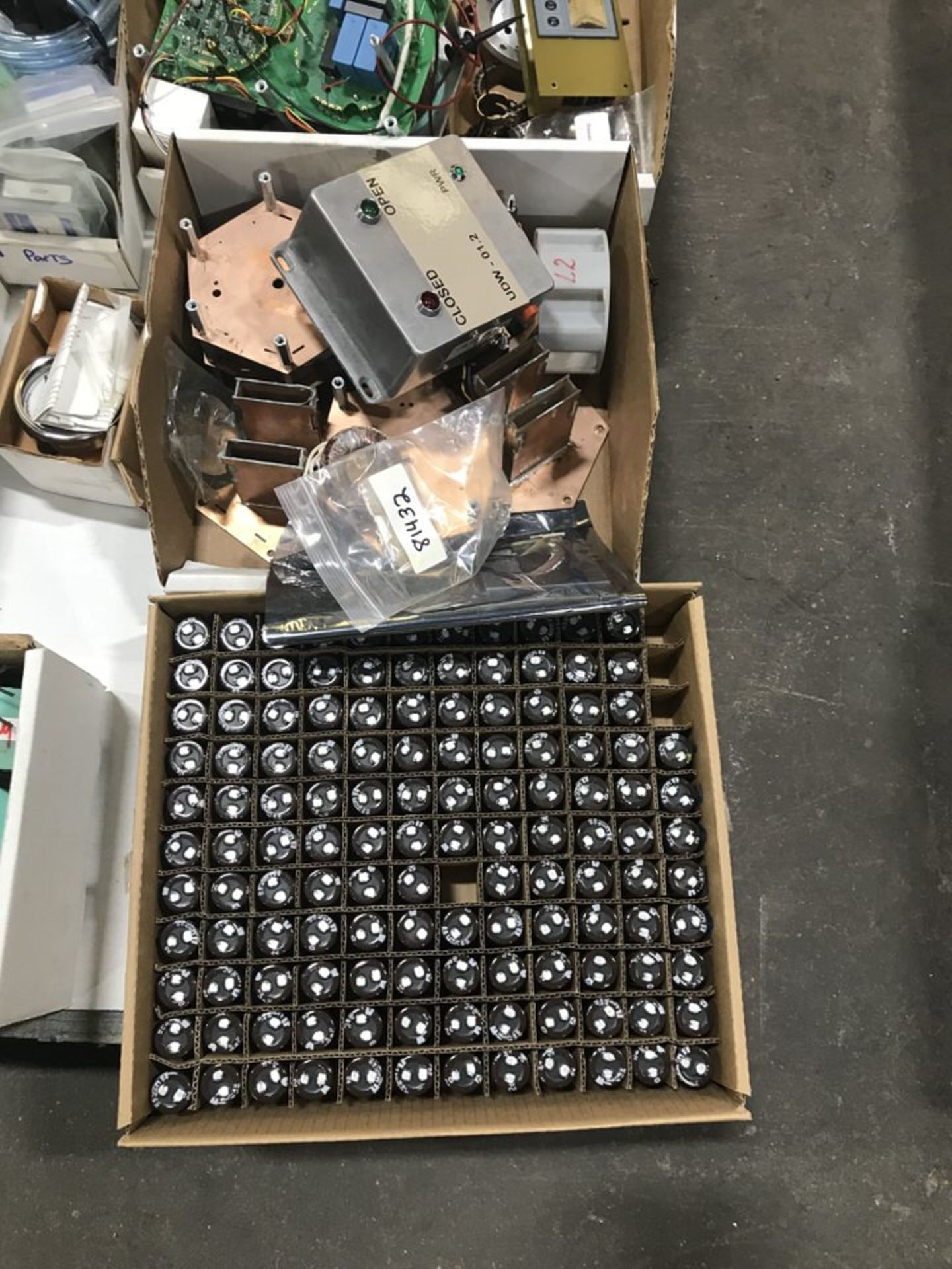 Lot 135B - Electronic Equipment, Capacitors, Inductors, Misc Electronic Components (LOCATION 1: 3421 N