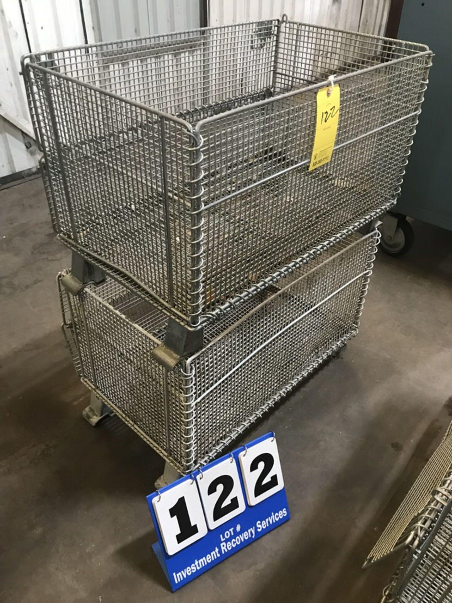 Lot 122 - (2) Shop Baskets (LOCATION: 3421 N SYLVANIA, FT WORTH, TX, 76111)