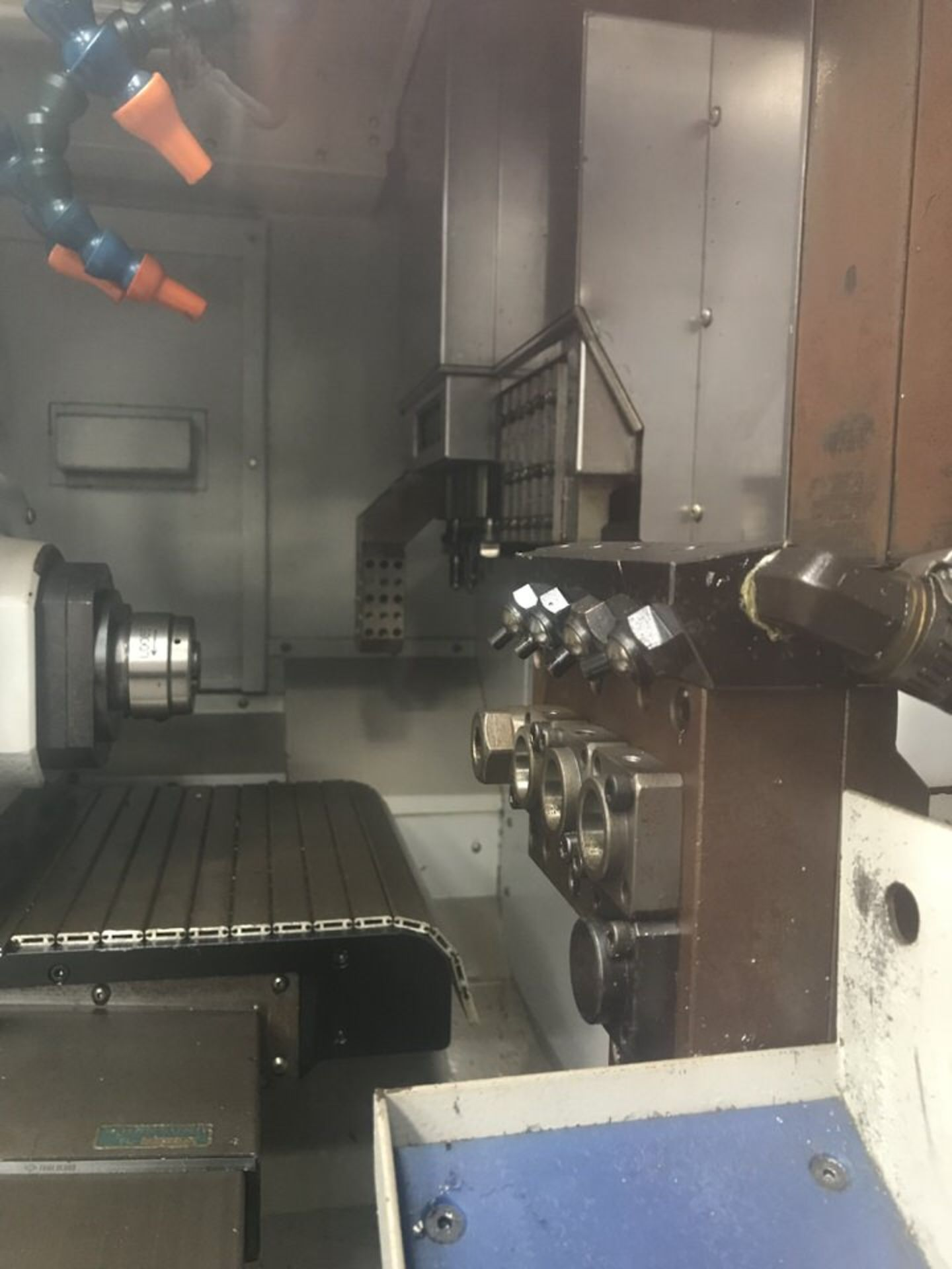 "Lot 101 - 2008 Nexturn SA20D Swiss Type Automatic Lathe, Spindle Hole Dia: .7874"", 7 Axis, Rpm:8,000,"