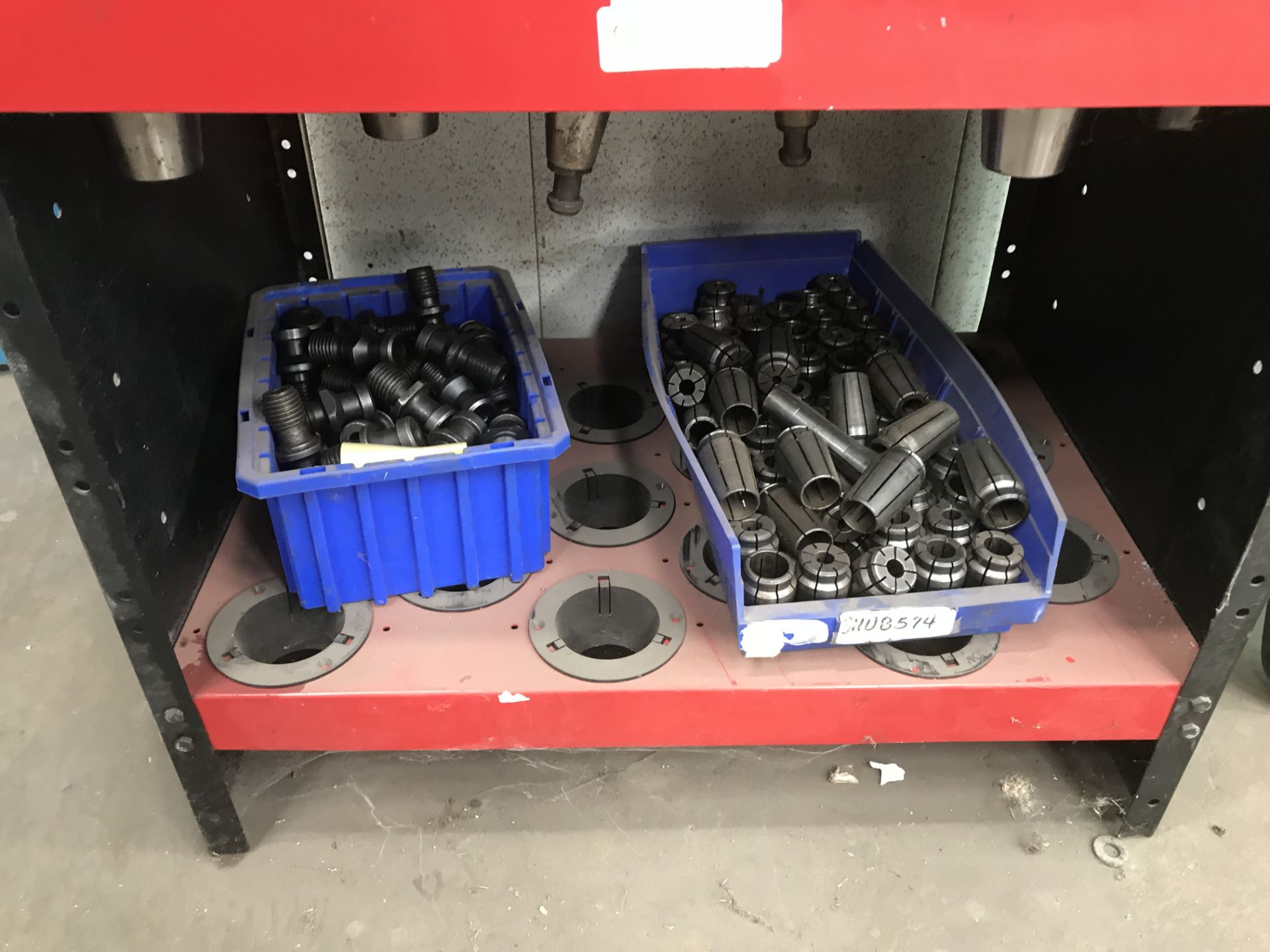 Lot 104A - Cat 50 Tooling (LOCATION: 3421 N SYLVANIA, FT WORTH, TX, 76111)