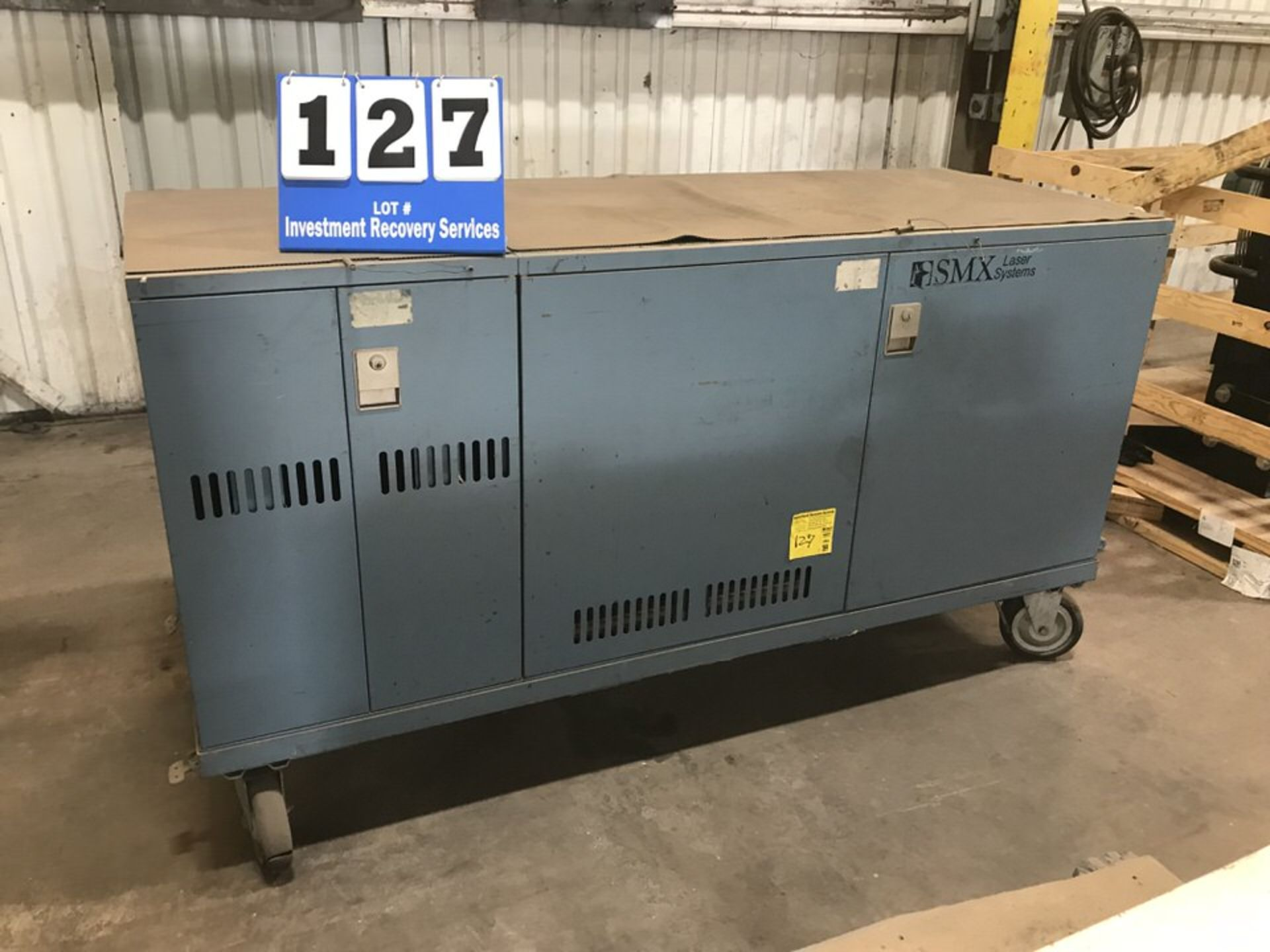 Lot 127 - SMX Laser Systems Unit (LOCATION: 3421 N SYLVANIA, FT WORTH, TX, 76111)