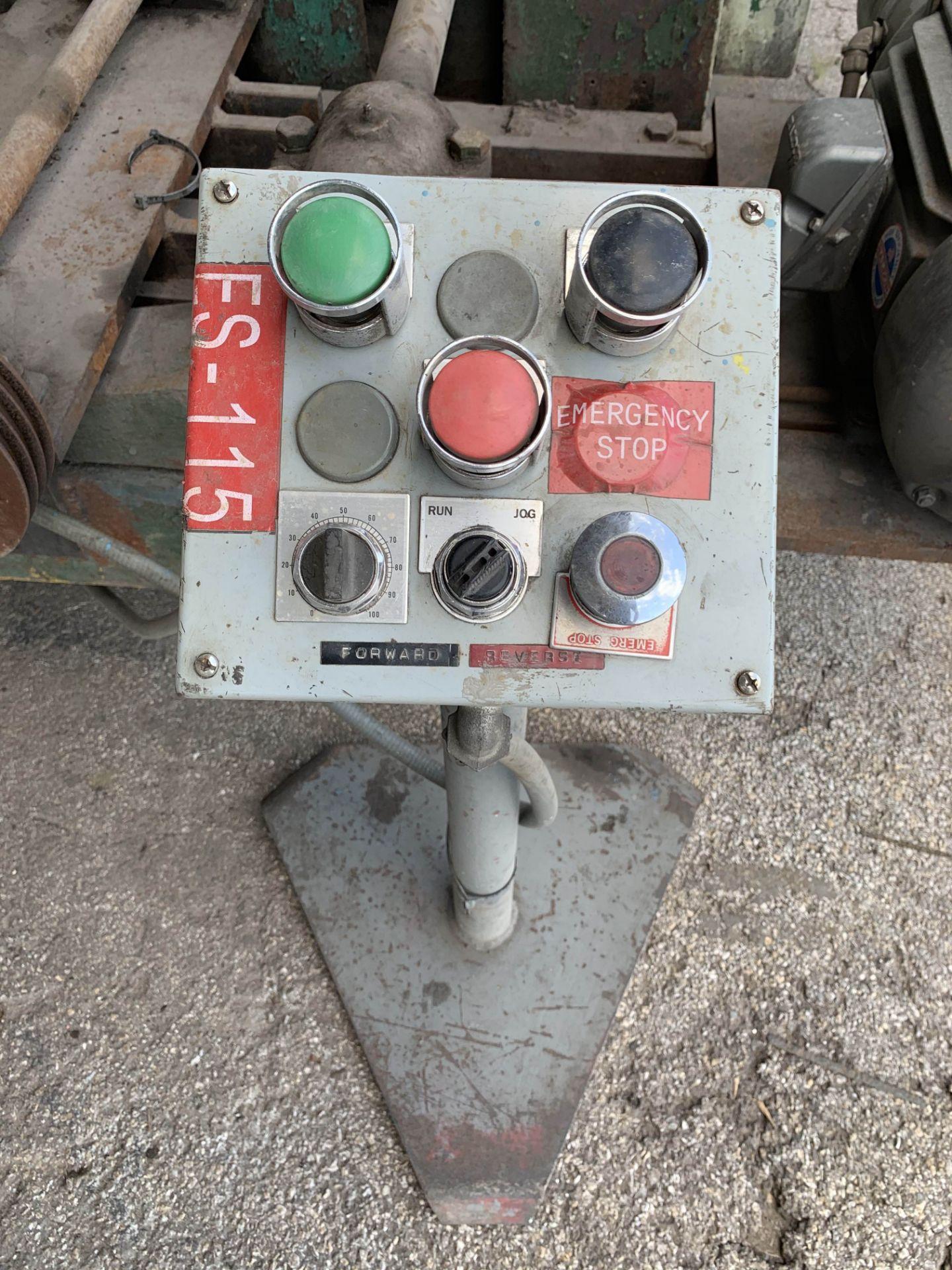 "Lot 103 - Westinghouse Plate Roll, 12' Rolls, 12"" Roll Dia, 480V, 3PH (LOCATION: 3421 N SYLVANIA, FT WORTH,"