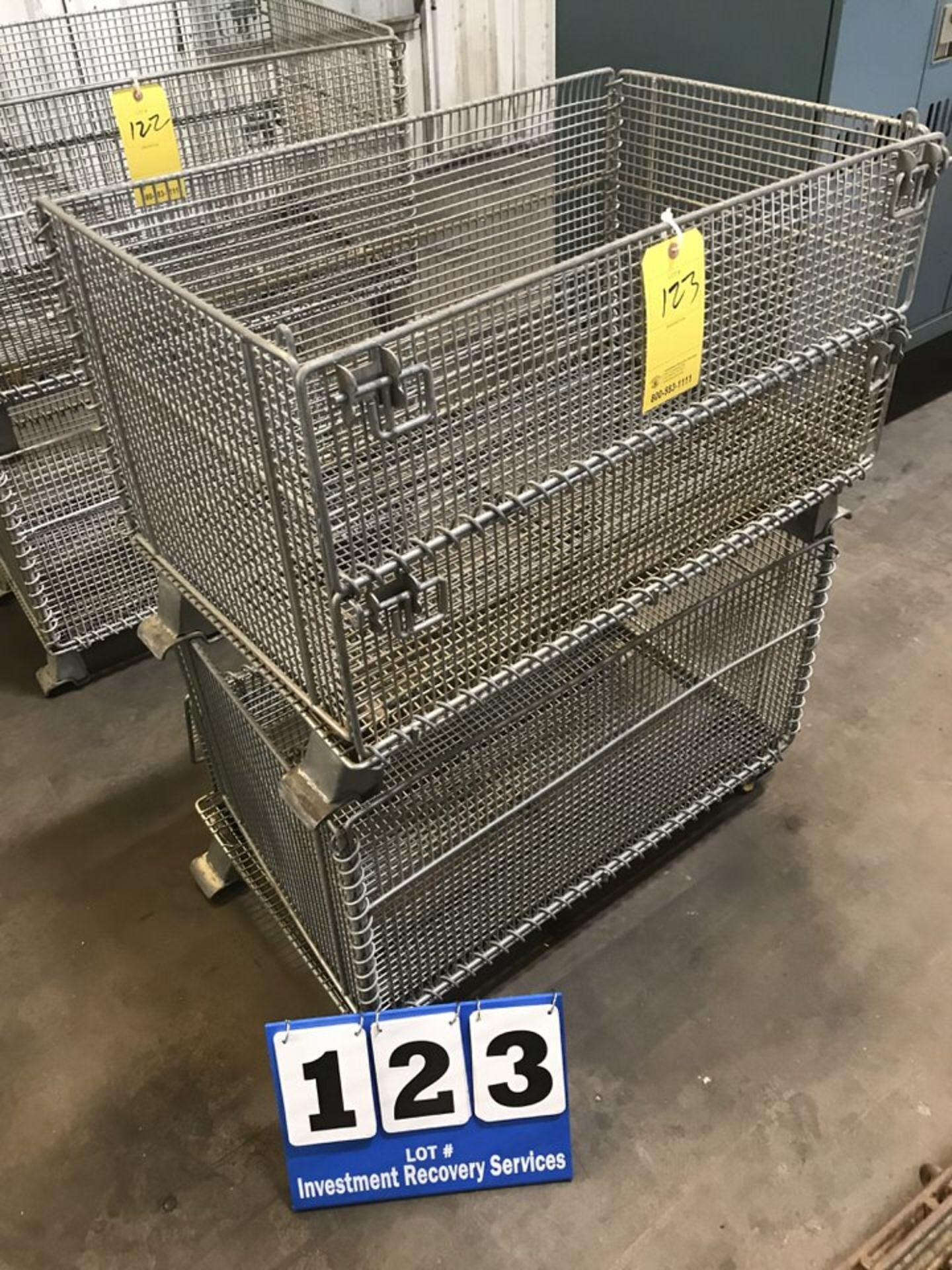 Lot 123 - (2) Shop Baskets (LOCATION: 3421 N SYLVANIA, FT WORTH, TX, 76111)