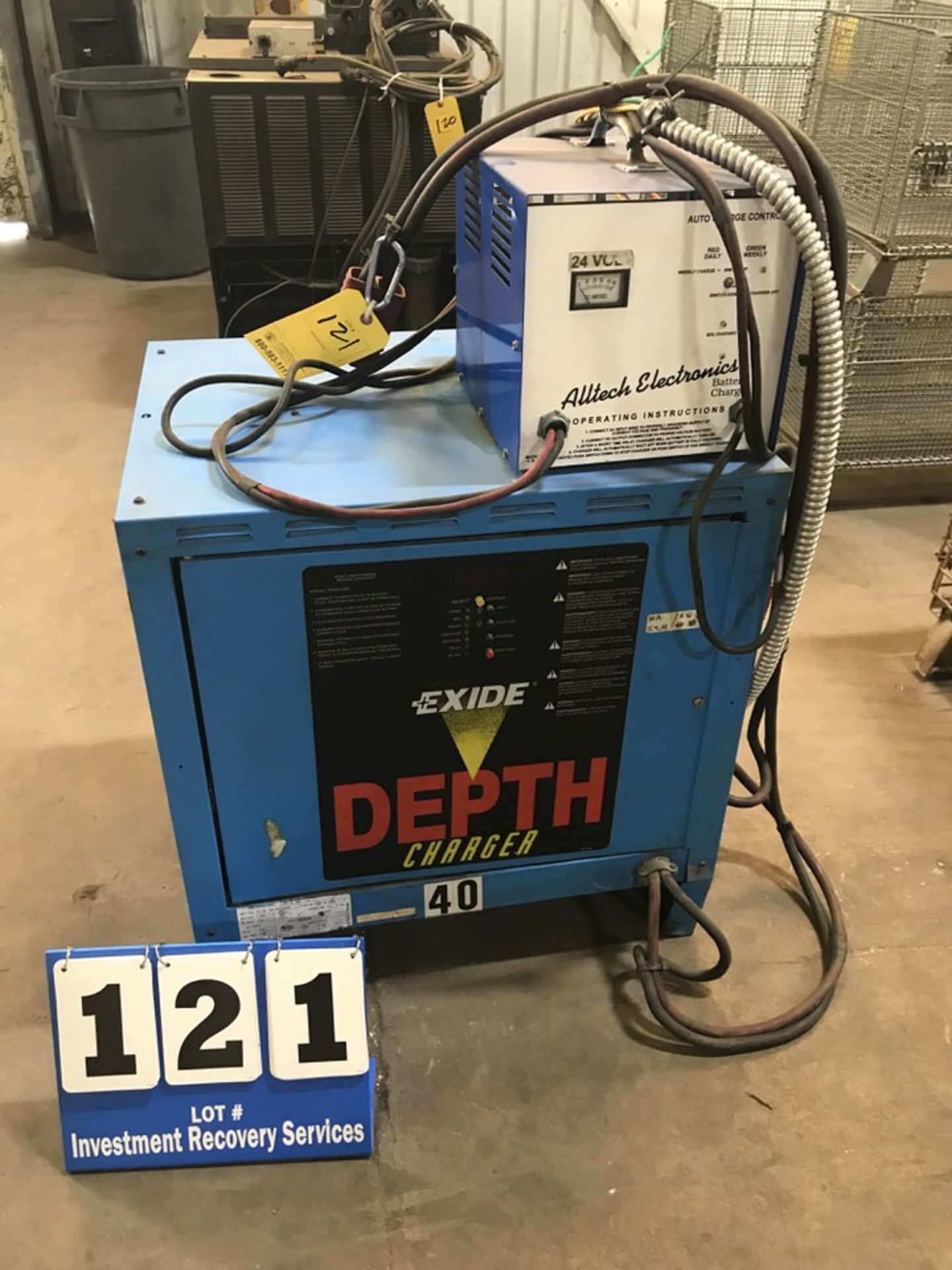 Lot 121 - Exude Depth Charge Charger Unit (LOCATION: 3421 N SYLVANIA, FT WORTH, TX, 76111)