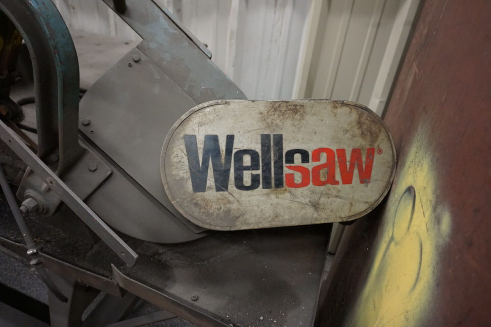 Lot 9 - WELLSAW 850 HORIZONTAL BANDSAW