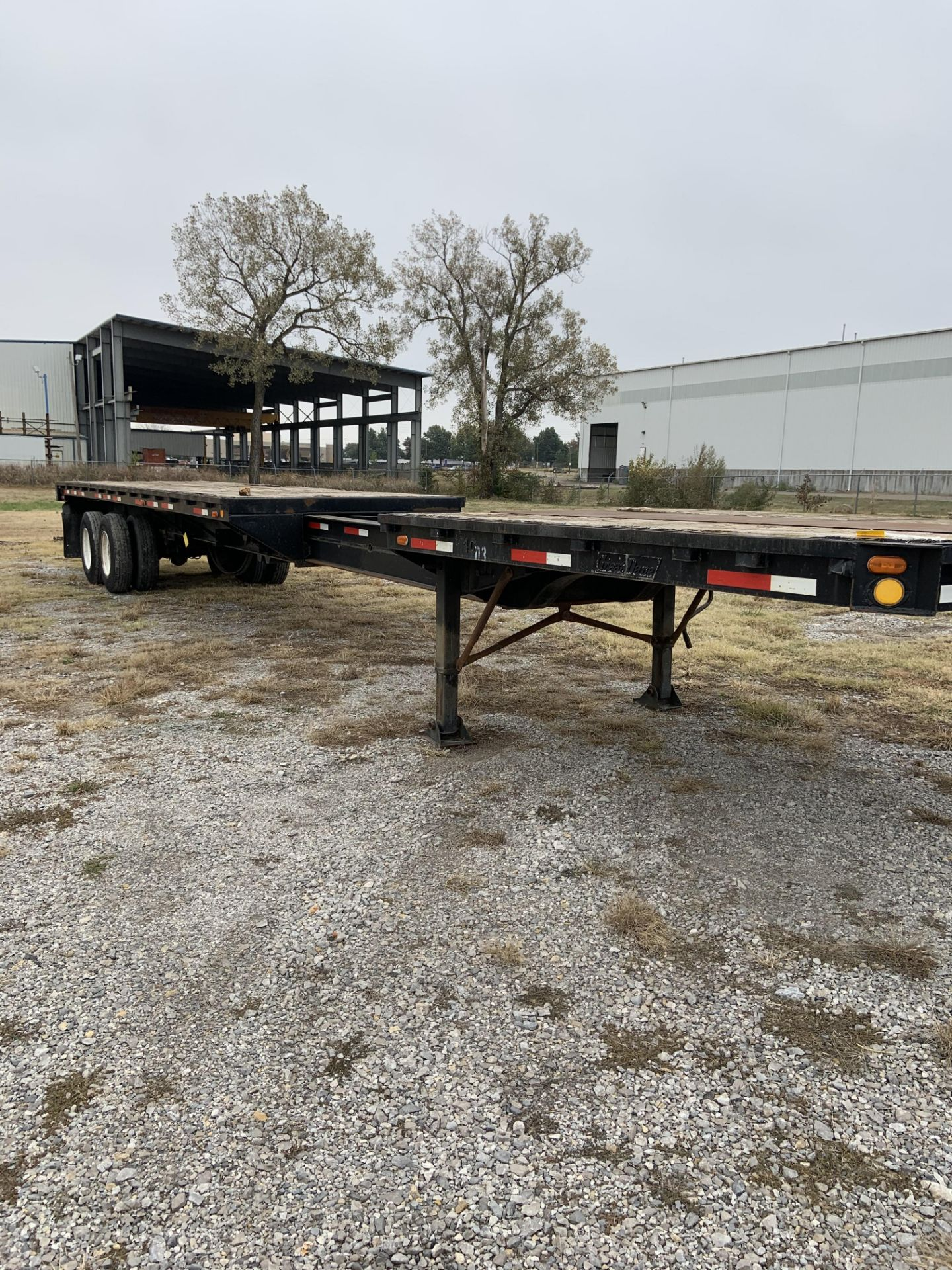 Lot 11 - 1979 GREAT DANE 60' STRETCH TRAILER, VIN: M22960