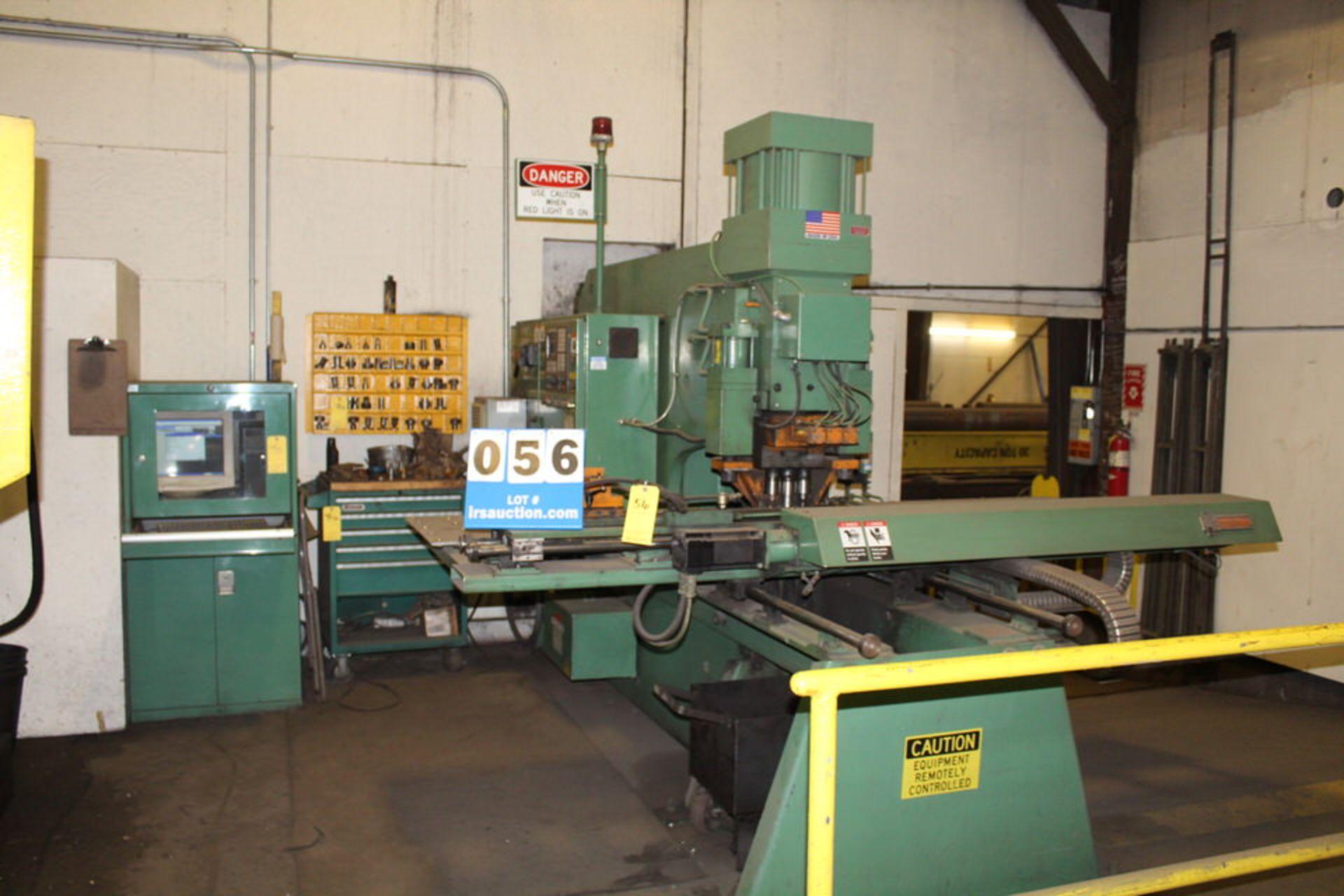 Lot 56 - 2002 PEDDINGHAUS F1170-B CNC PUNCH W/ CNC CONTROL & TOOLING (LOCATION: 4081 EASTSIDE HWY,