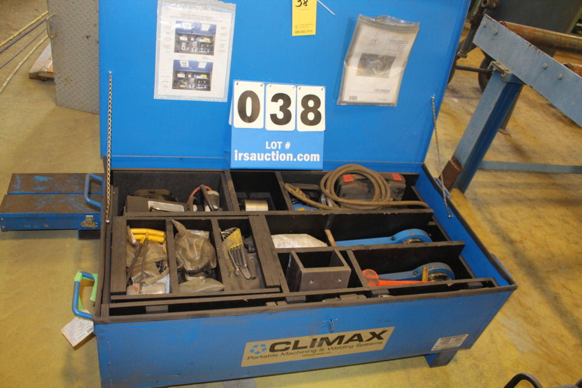 Lot 38 - CLIMAX PORTABLE BORING MACHINE, MDL:BB5000 (LOCATION: 4081 EASTSIDE HWY, STEVENSVILLE, MT, 59870)