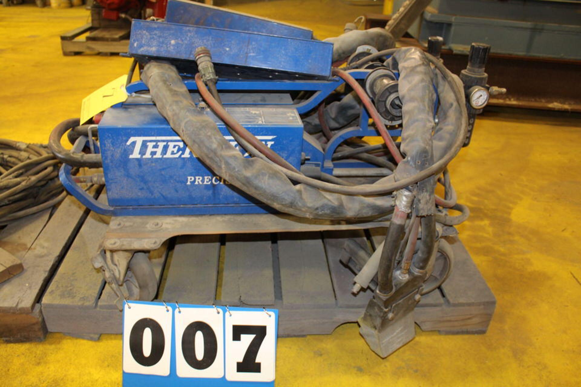 Lot 7 - THERMION PRECISION ARC WELDER 4.8 SPRAY METAL SYSTEM (LOCATION: 4081 EASTSIDE HWY, STEVENSVILLE, MT,