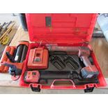 Hilti EB3500-A Battery Powered Epoxy Gun, in Case, with Battery Charger
