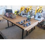 """Lot of Two Tables: 30"""" x 6' x 29"""" H"""