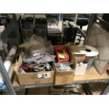 Lot 38 - CABLING AND VARIOUS HARDWARE