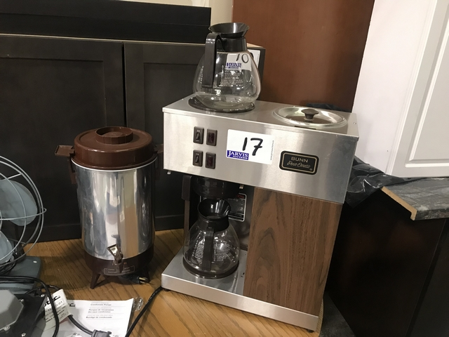 Lot 17 - BUNN & NEGCO COMMERCIAL COFFEE MAKERS