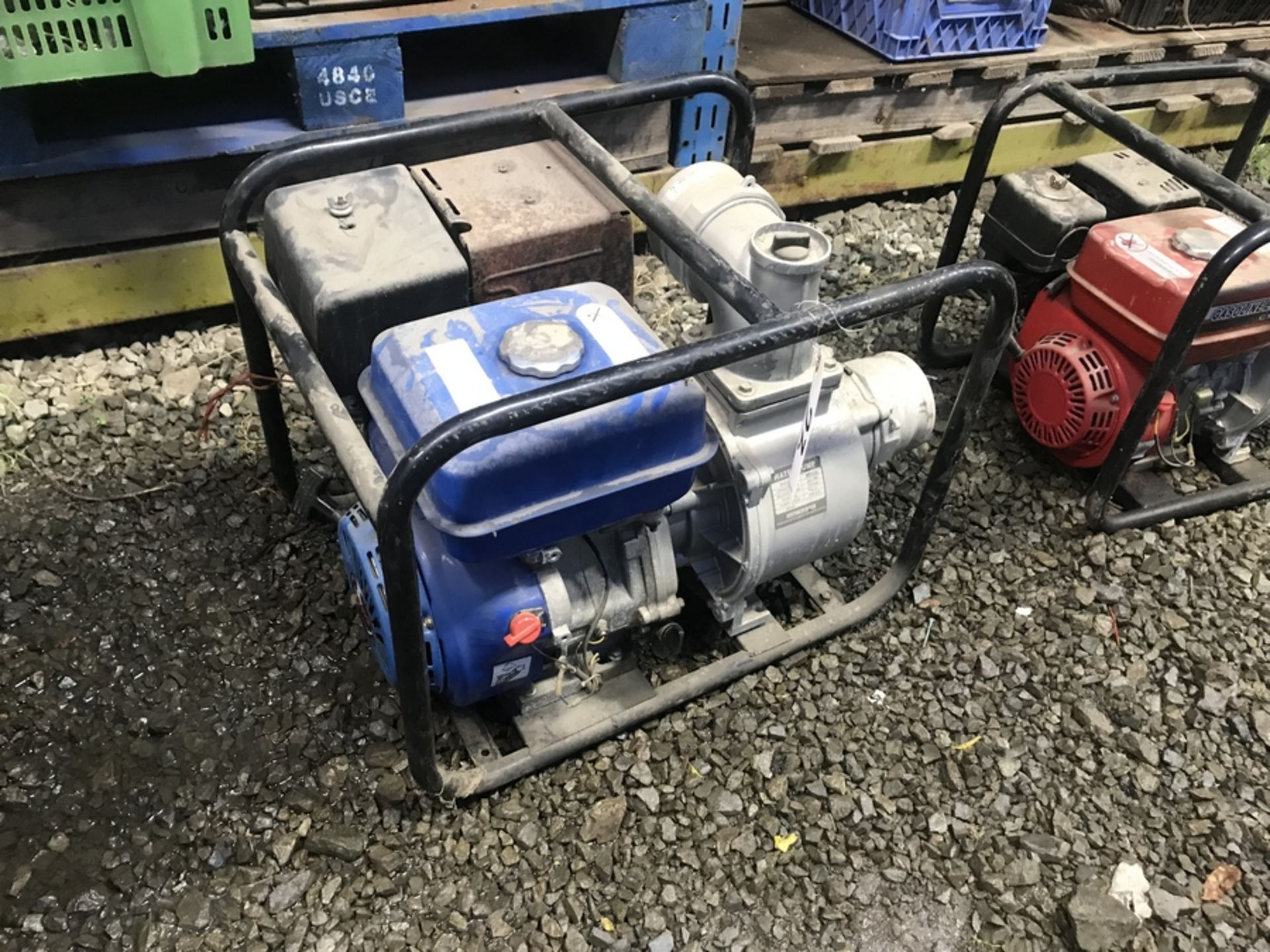 Lot 23 - GAS DRIVEN WATER PUMP