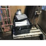 Lot 49 - 4 TOTES & ASSORTED STAINLESS