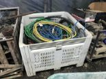 Lot 38 - HOSES & CABLES ( TOTE NOT INCLUDED )