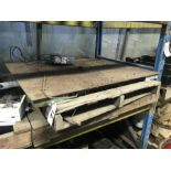 Lot 12 - PALLET SCALE WITH CONTROLS