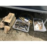 Lot 19 - STAPLES, AIR LINE & MISC. TOOLS