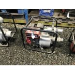 Lot 24 - GAS DRIVEN WATER PUMP