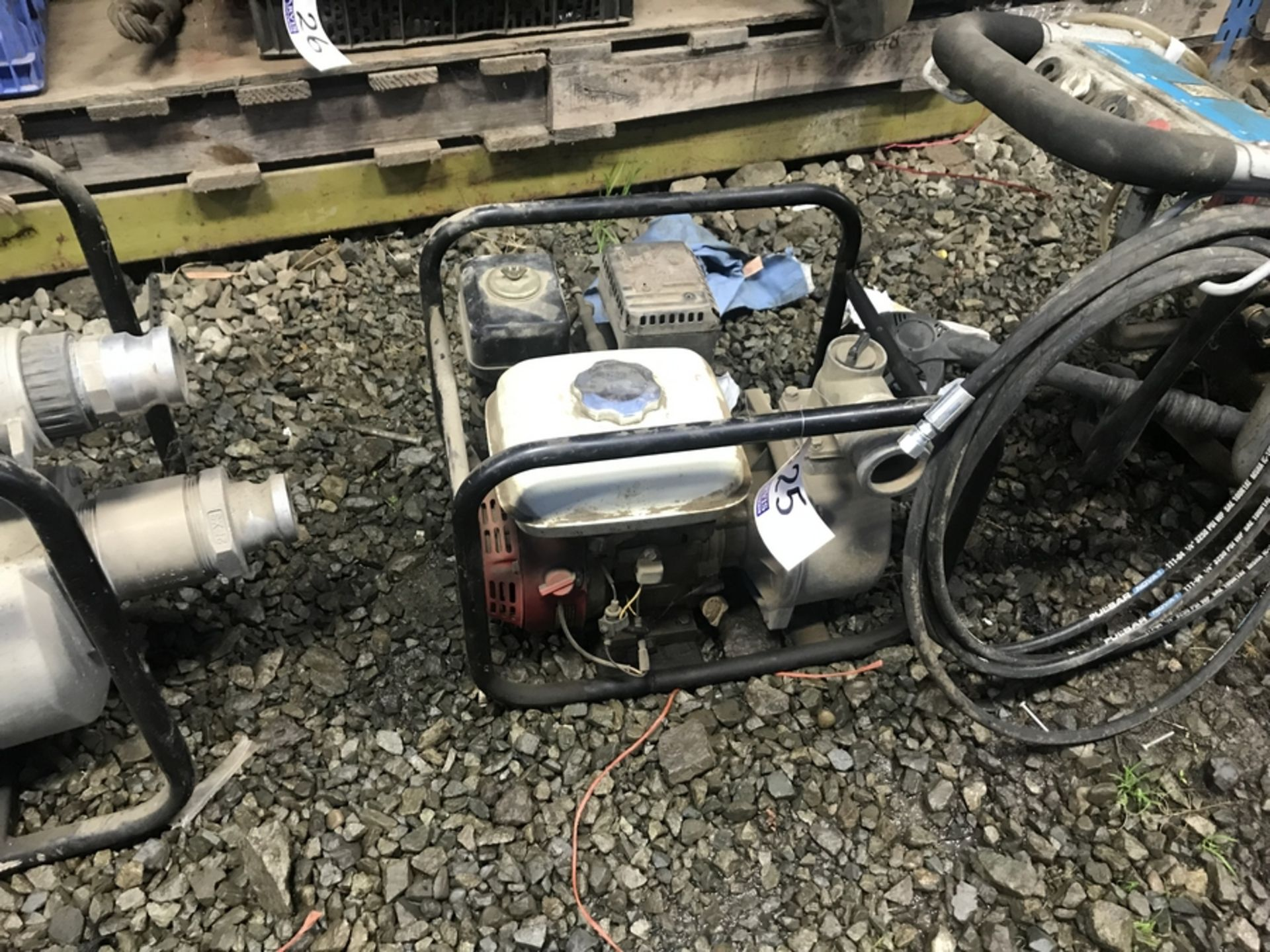 Lot 25 - GAS DRIVEN WATER PUMP
