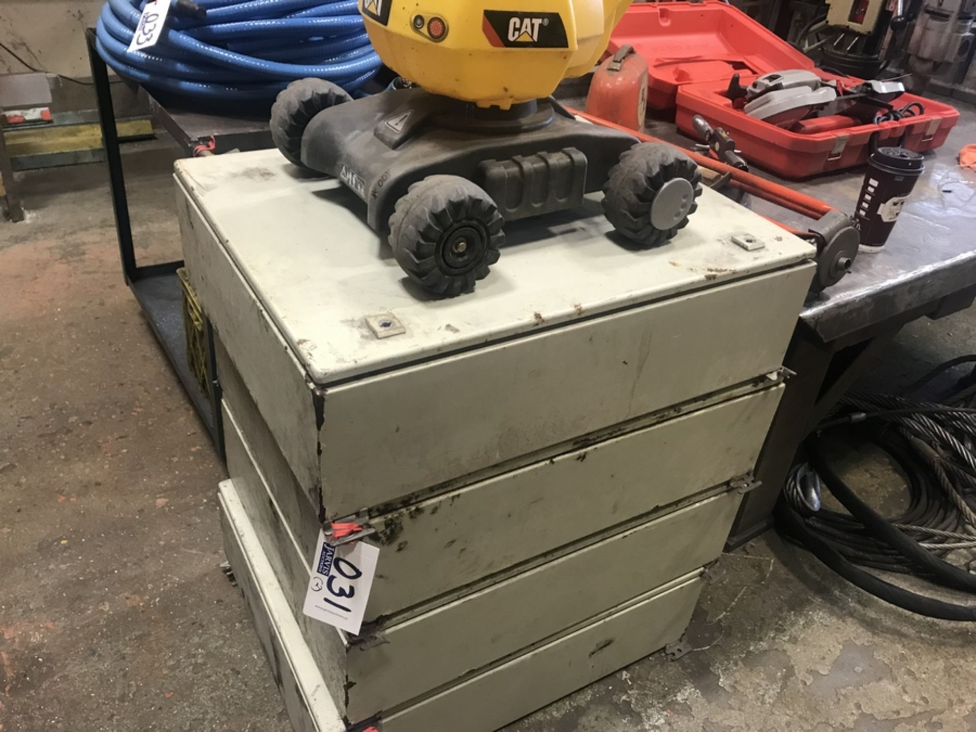 Lot 31 - 2 CONTROL BOXES