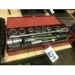 "Lot 54 - 3/4"" RACHET & SOCKET SET"