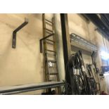 Lot 46 - 4 ASSORTED LADDERS