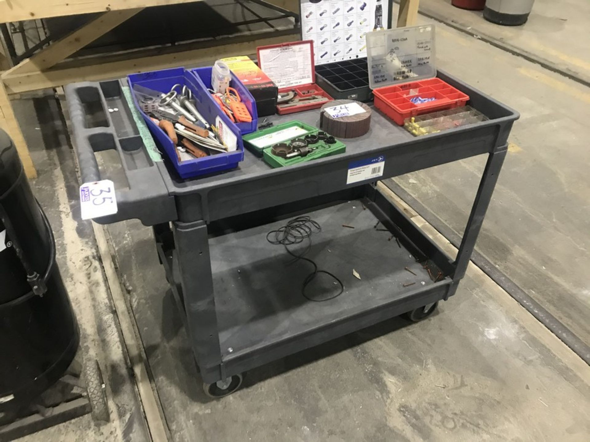 Lot 35 - 2 TIERED CART