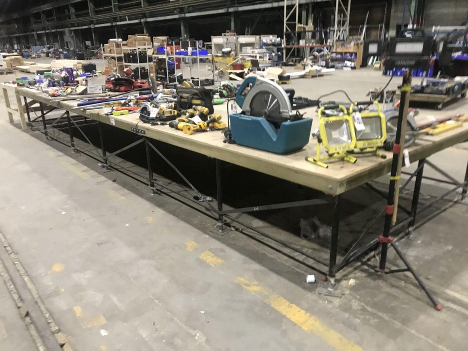 Lot 50 - 24' X 8' LAYUP TABLE