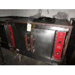 Vulcan 2-Door Port. LP Full Size Convection Oven