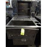 Custom Port. Food Cart, S.S., Propane, On Wheels