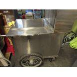 Port. 3-Tray Food Cart, S.S.
