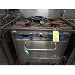 Castle 4-Burner LP Port. Heavy Duty Range w/Oven