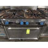 6-Burner LP Range w/Oven