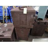 LOT (3) Cambro Carlisle Warmers, Hot Food Boxes, Full Size