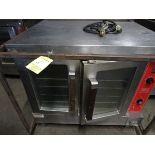 Vulcan 2-Door LP Port. Convection Oven, Full Size