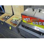 LOT (3) Gold Medal 8007 Hot Dog Steamers