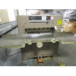 """Challenge MC Paper Cutter, s/n 11890, Size 305, 30.5"""" (Located in Palmer, MA)"""