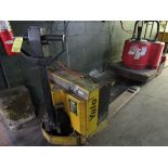 Yale MPB040 Elec. Pallet Jack, 4000 Lb. w/Charger (Located in Palmer, MA)