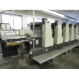 """Miller TP74 5/C 29"""" Offset Sheet Fed Perfector s/n G21086 w/C3 Console (Located in Palmer, MA)"""