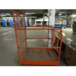 Man Lift Cage (Located in W. Springfield, MA)