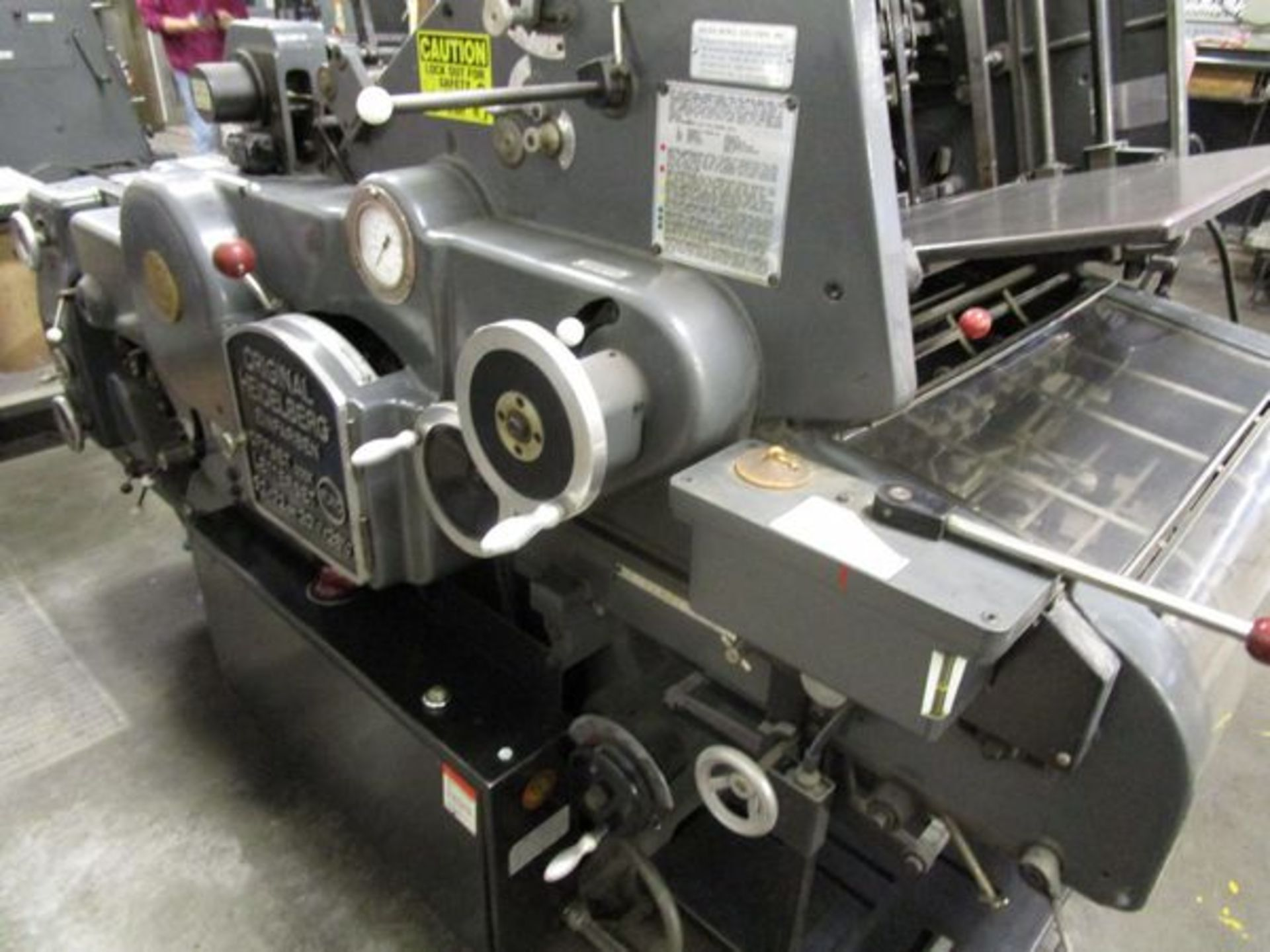 Heidelberg Kors Offset Press, s/n 344166 (Located in Palmer, MA) - Image 2 of 6