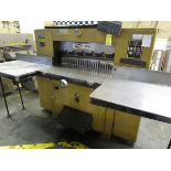 """Challenge 370G Mod. GM Paper Cutter, s/n 29633, Size 370, 37"""" (Located in Palmer, MA)"""