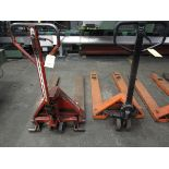 LOT (2) Hyd. Pallet Jacks (Located in Palmer, MA)