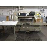 1977 Polar 115CE Paper Cutter, Machine #4732109 w/Microcut Control, Side Air Table, Spare Blades,