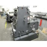 Heidelbrg Type GTO52 Offset Press, s/n 689-331 (Located in Palmer, MA)