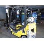 2009 Hamech Mod. G25ST016 LPG Clamp Truck, s/n 222279A, 2500 Lb. w/ Roll Clamp (Located in Palmer,