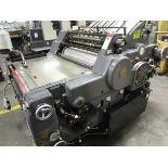 Heidelberg Kors Offset Press, s/n 344166 (Located in Palmer, MA)