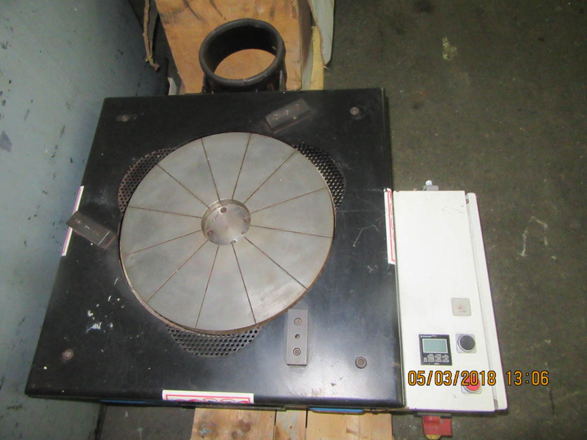 "Lot 56 - PETER WOLTERS MDL. 3R380 LAPPING MACHINE SINGLE WHEEL TYPE, 120V/1PH/60HZ, WHEEL DIAMETER: 15"","